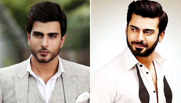 Imran And Fawad Have Been Nominated To World's Handsome Men : The Most favorite male stars who are loved not only in Pakistan but in India too!