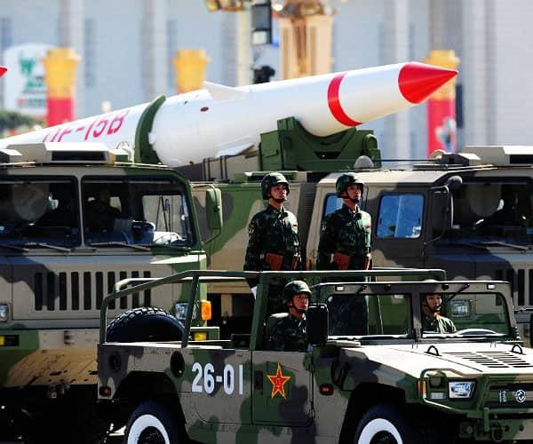 China nuclear warheads