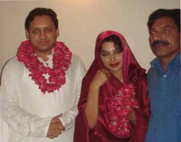 meera with husband