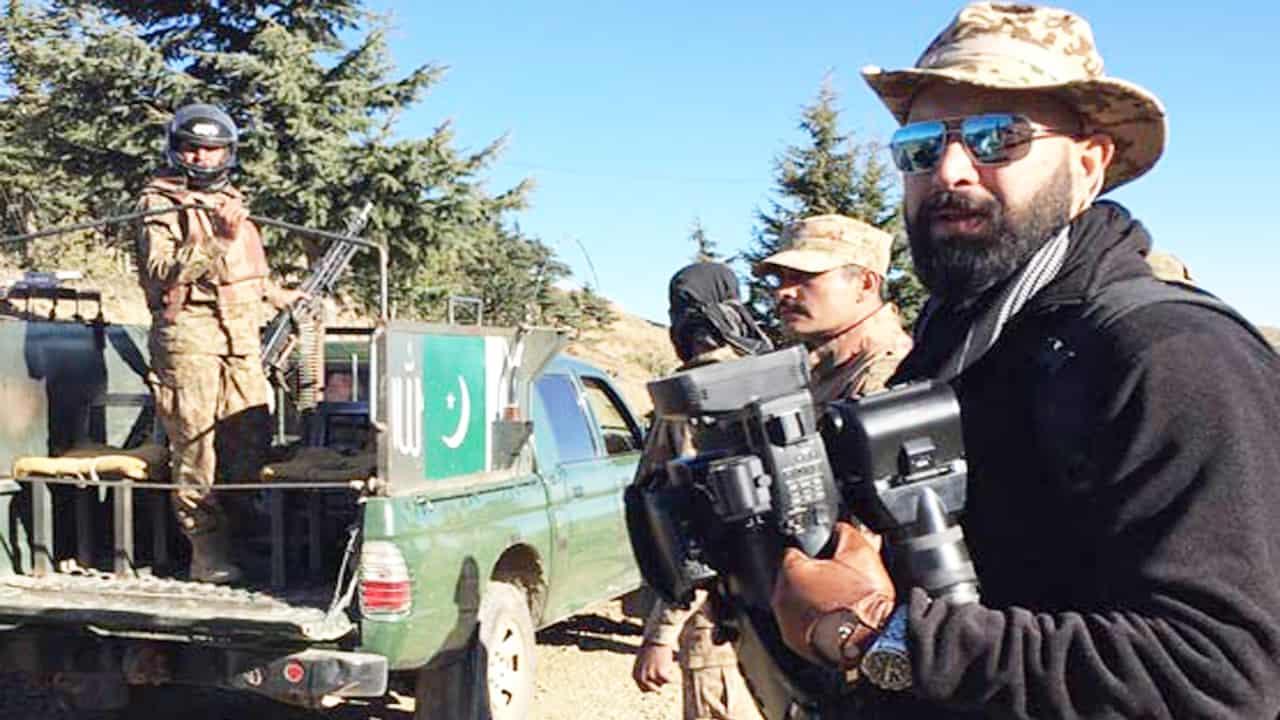 Wajahat Saeed Khan in Mahaaz