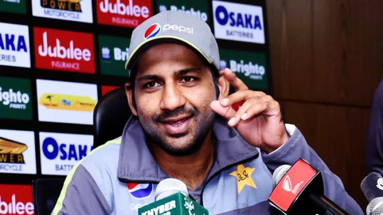 میچ جیتنے کے بعد سرفراز احمد کی میڈےا اے گفتگو