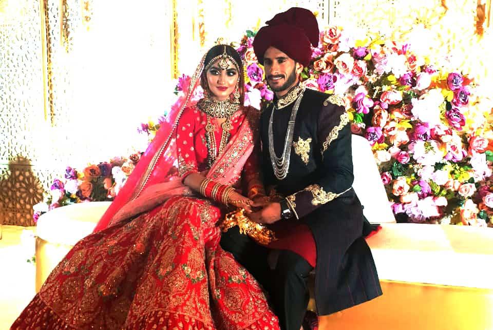 hassan ali wedding