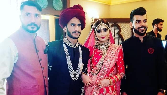 Photo of Pakistani Cricketer Hasan Ali marries Indian Girl Samia Arzoo | Cricket News