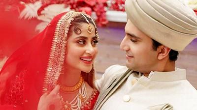 sajal ali wedding