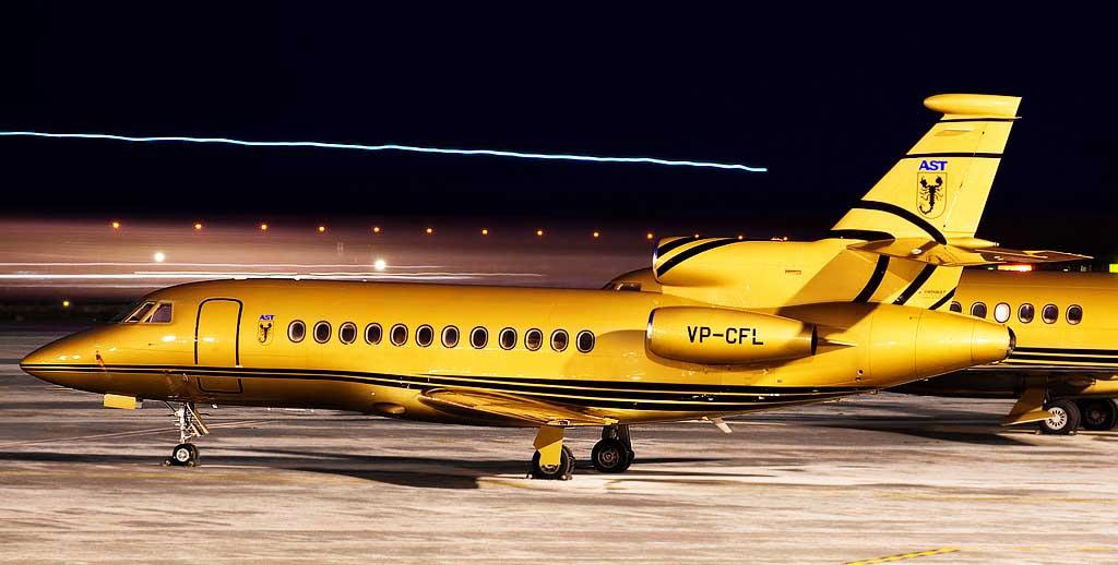 Sultan Hassanal Bolkiah private jet