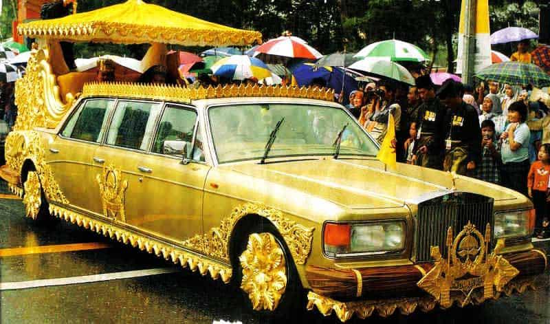 Sultan Hassanal Bolkiah car