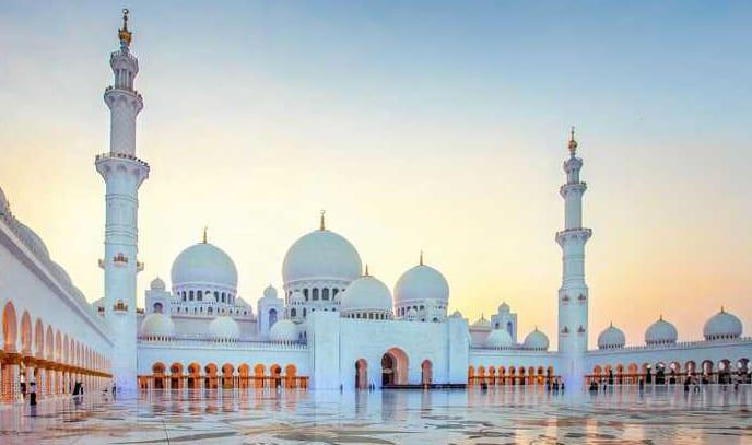 Sheikh Zayed Mosque, United Arab Emirates