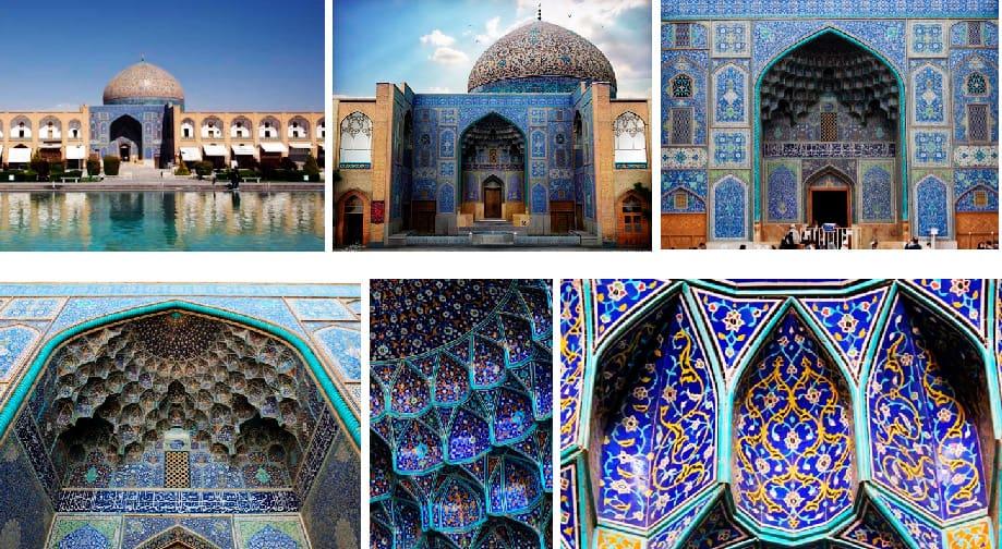 Sheikh Lutfullah Mosque Iran, Jama Masjid India