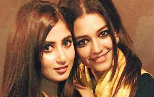 Sajal Aly and Zara Noor