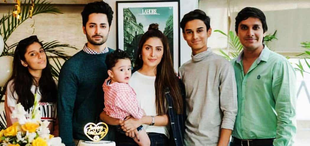 Ayeza Khan Family