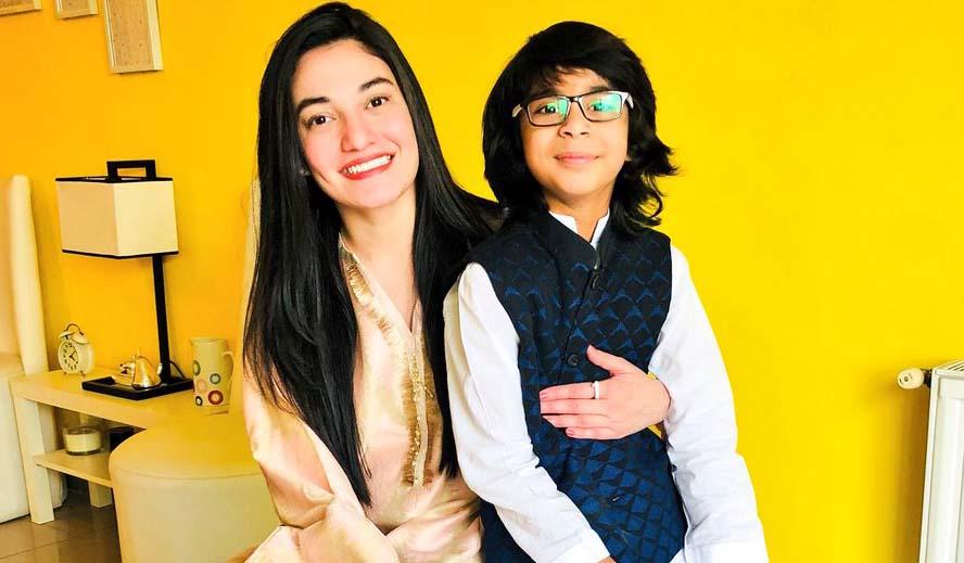 Muniba Mazari Family