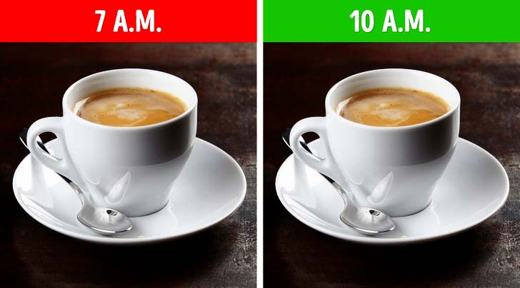 Get Up In The Morning and Drink Tea or Coffee