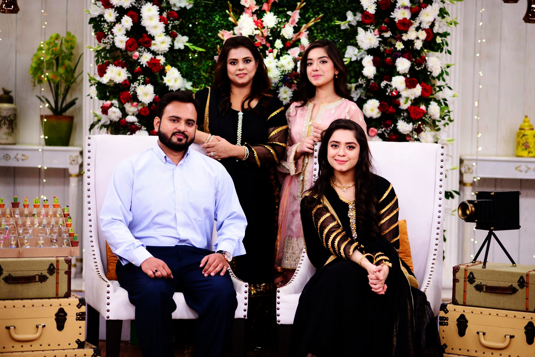 Arisha Razi Family