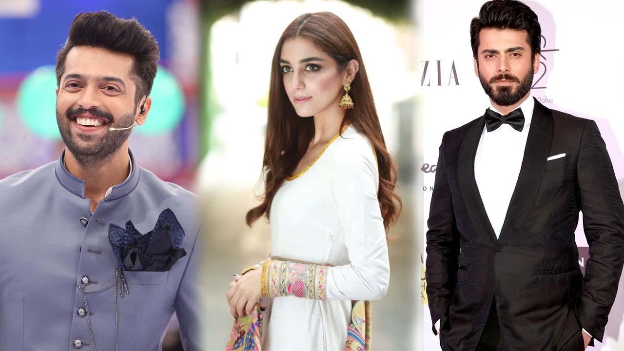 fahad mustafa, maya ali, alishba yousuf, fawad khan