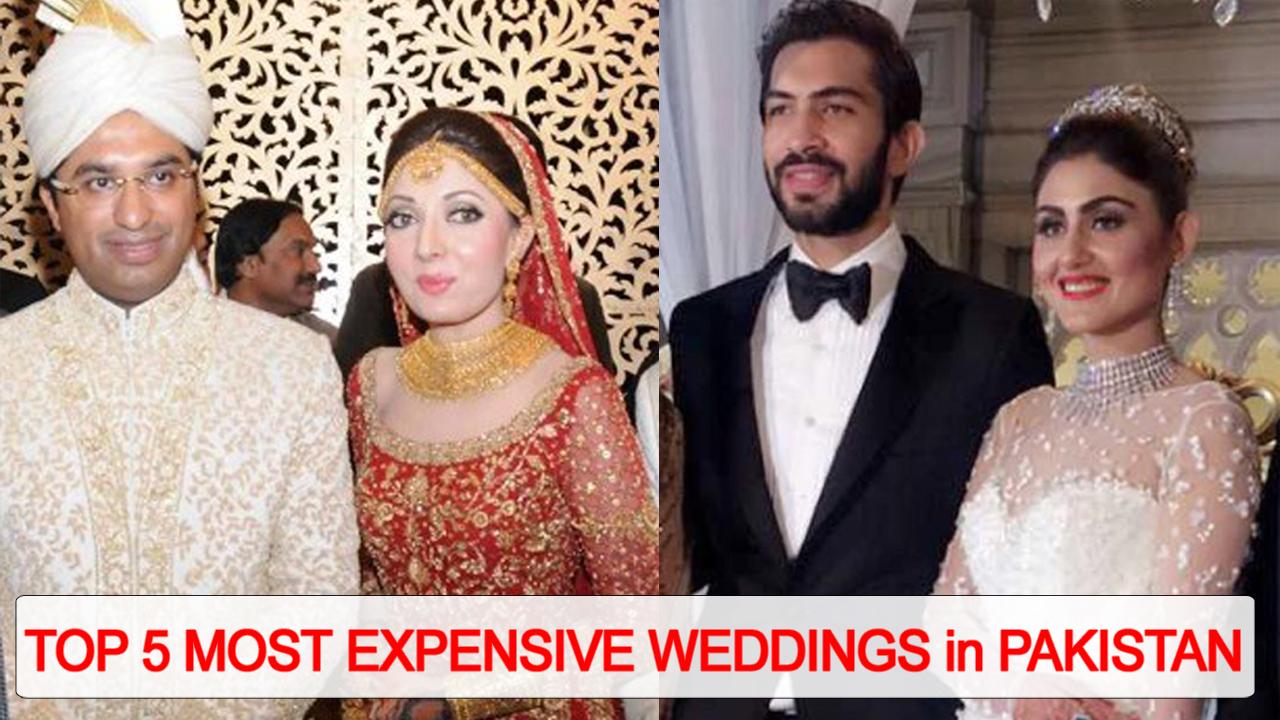 Top 5 Most Expensive Weddings in Pakistan