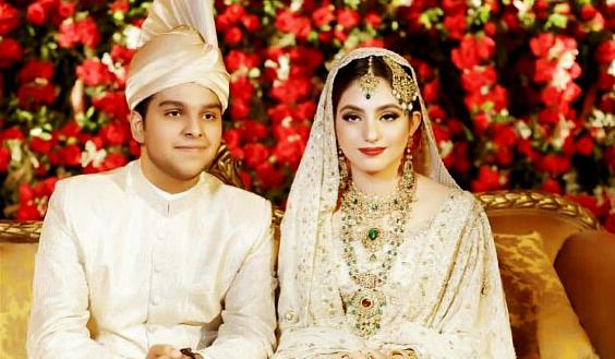 Zoraiz Riaz and Zainab